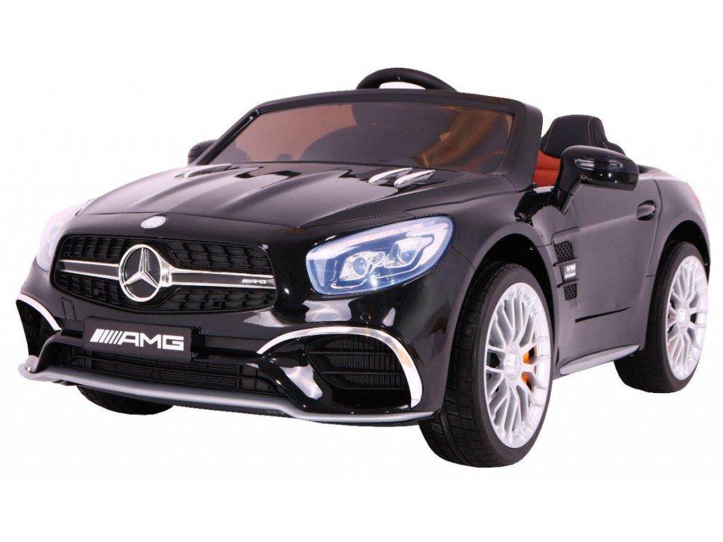 Elektrické autíčko Mercedes Benz AMG SL65, lakovaná černá