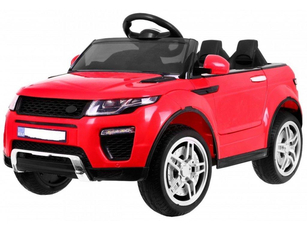 Elektrické autíčko sportovní Rapid Racer červené