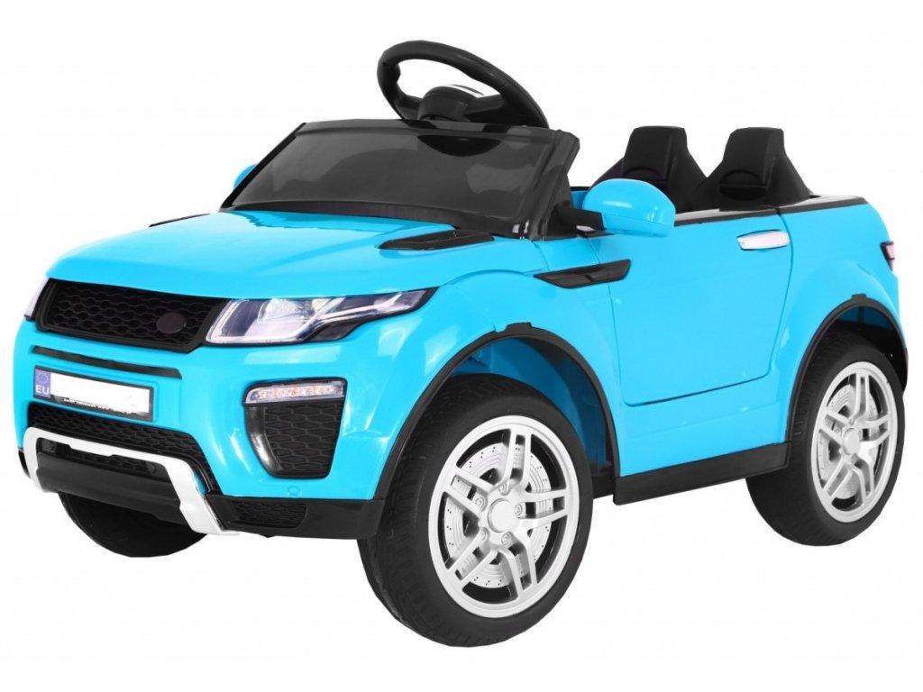 Elektrické autíčko sportovní Rapid Racer modrý