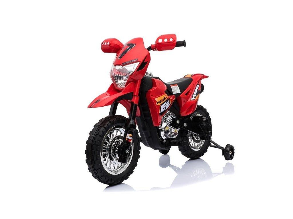 pol pl Motocykl na Akumulator BDM0912 Czerwony 3945 3