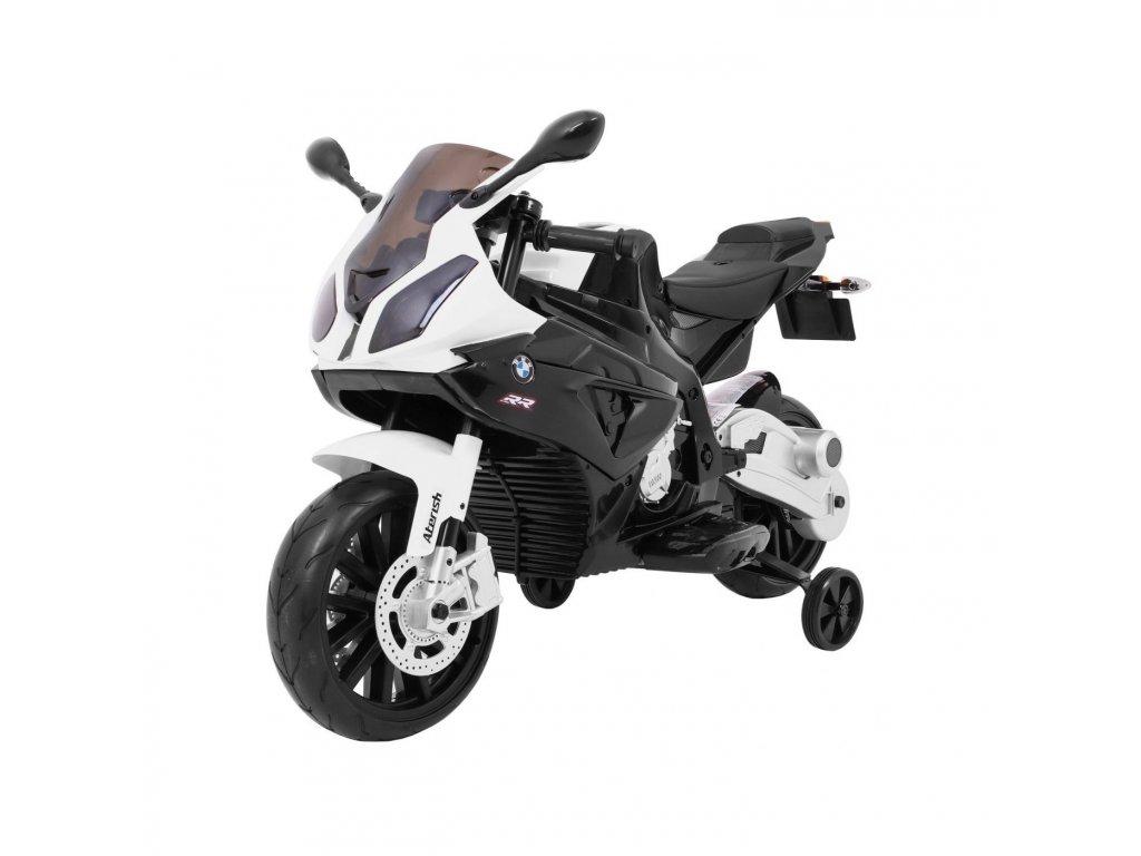 Dětská elektrická motorka BMW černá