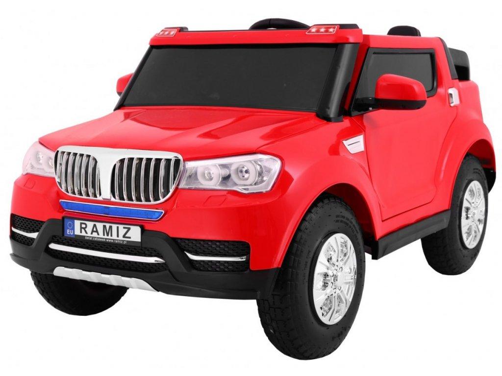 Pojazd S8088 AIR Pompowane Kola Czerwony [22204] 1200