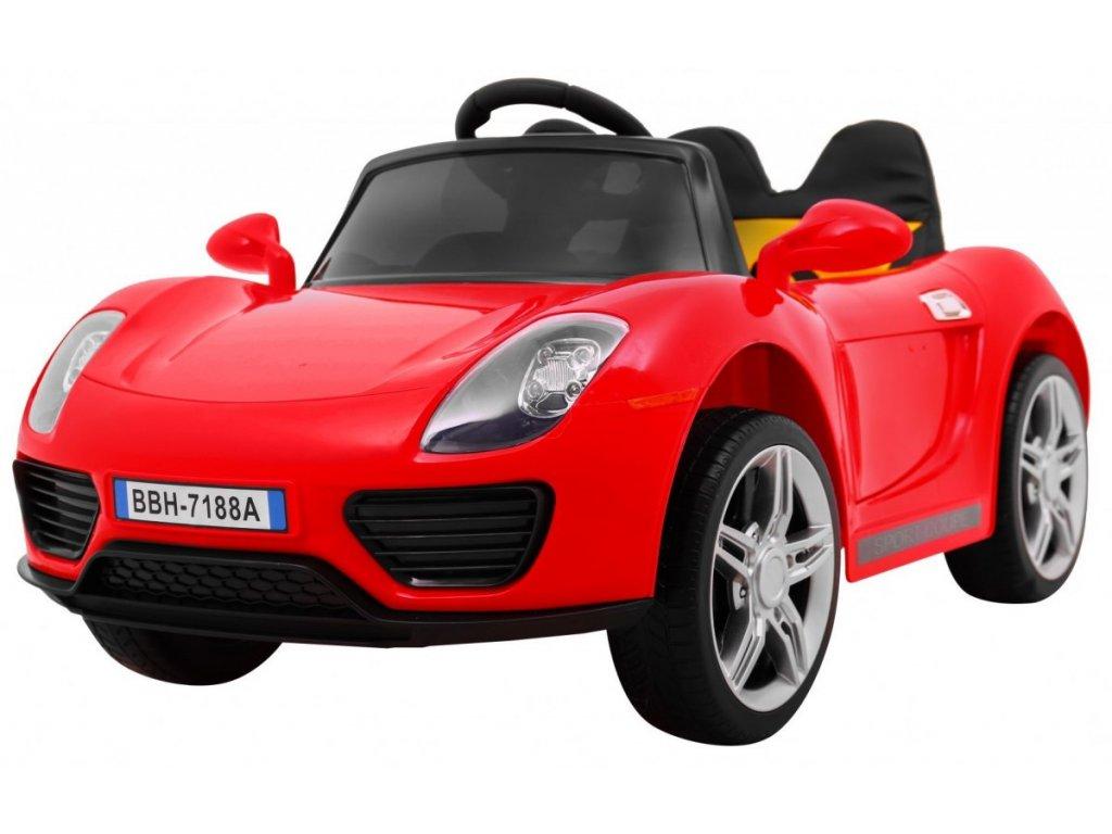 Pojazd Roadster Czerwony [25712] 1200