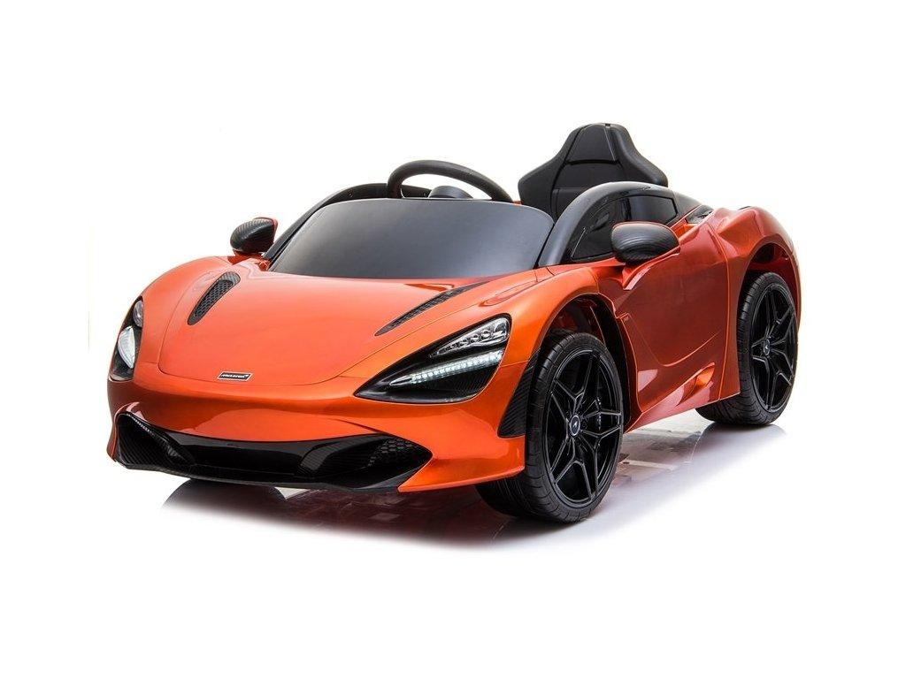 Elektrické autíčko McLaren 720s oranžové 1