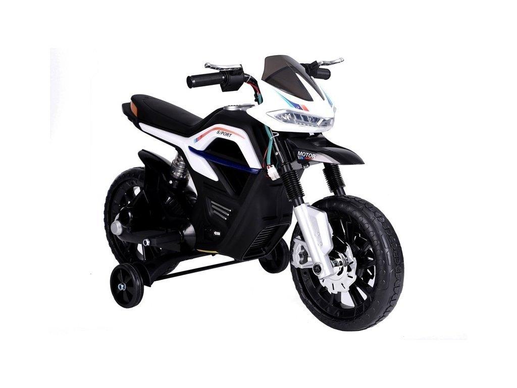 pol pl JT5158 Motocykl Na Akumulator Bialy 4098 5