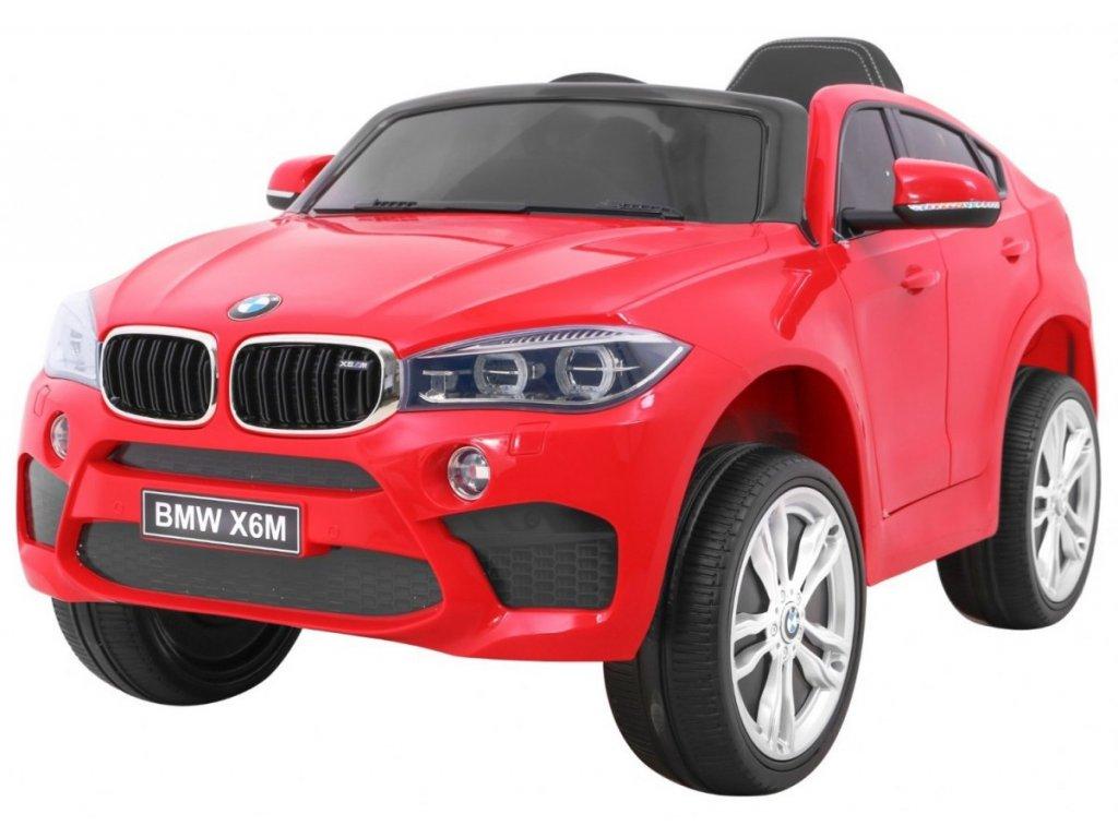 Elektrické autíčko BMW X6 M červené
