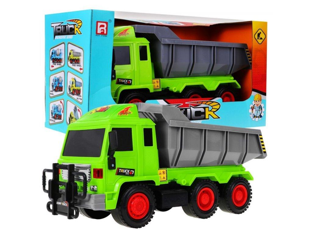 dětské nákladní auto zelené 1