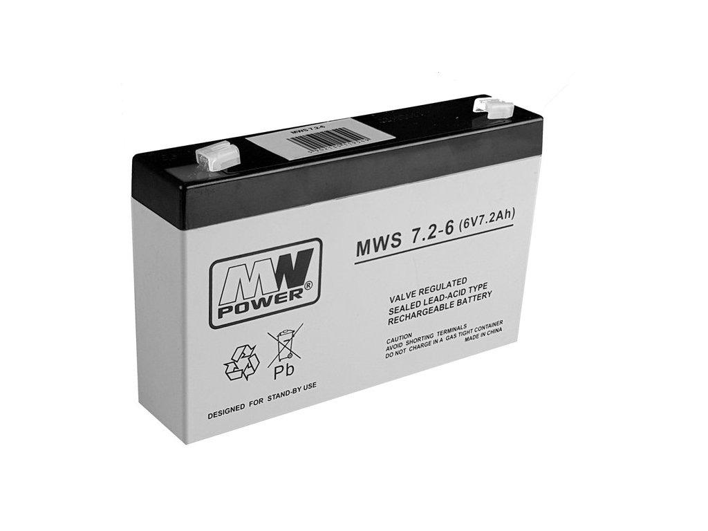 Mamido baterie 6V 7,2Ah