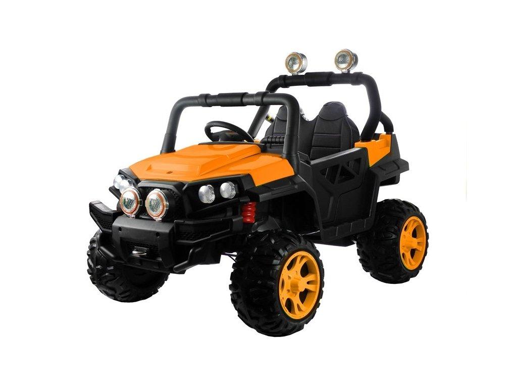 čtyřkolka elektrická oranžová HL2188 oranžová 1