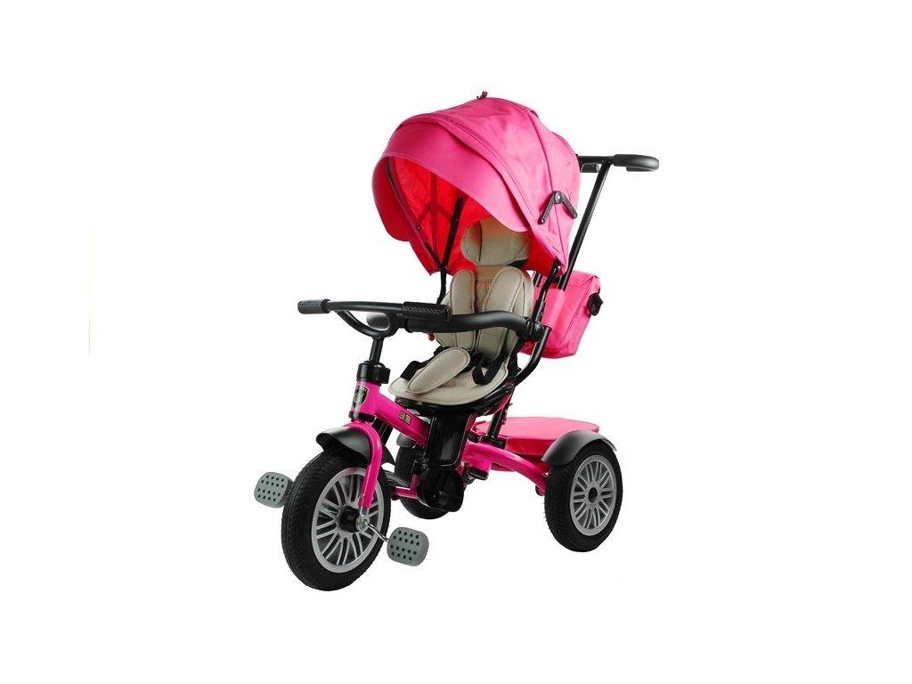 Dětská tříkolka PRO800 růžová