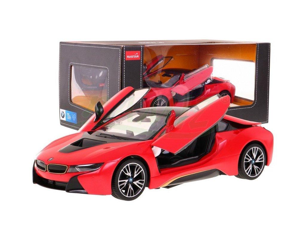 Autko RC BMW i8 Czerwony 1 14 RASTAR [15252] 1200