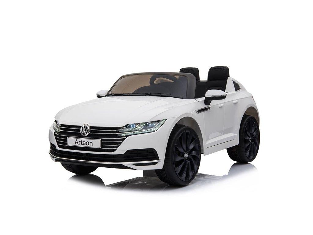 Dětské elektrické autíčko Volkswagen Arteon bílé