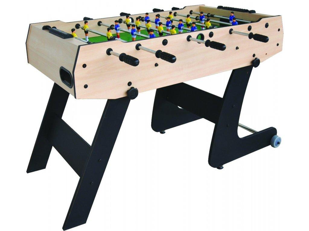 Stolní fotbal 121x61x81 dřevo 1