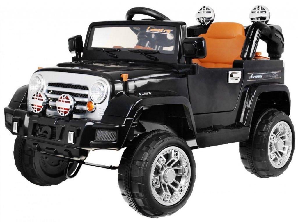Elektrické autíčko Jeep černé