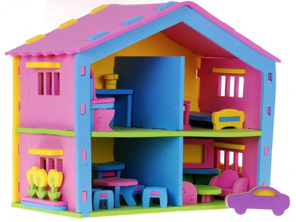 Malinký dětský domeček1236
