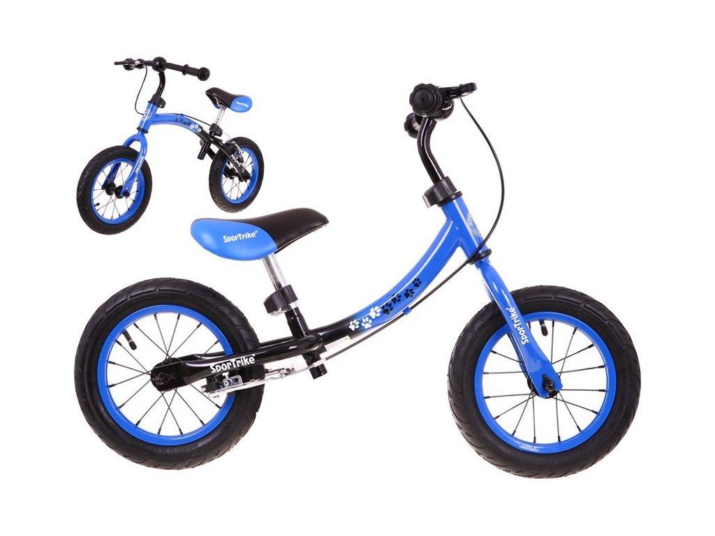 Dětské odrážedlo Boomerang 2v1 modré
