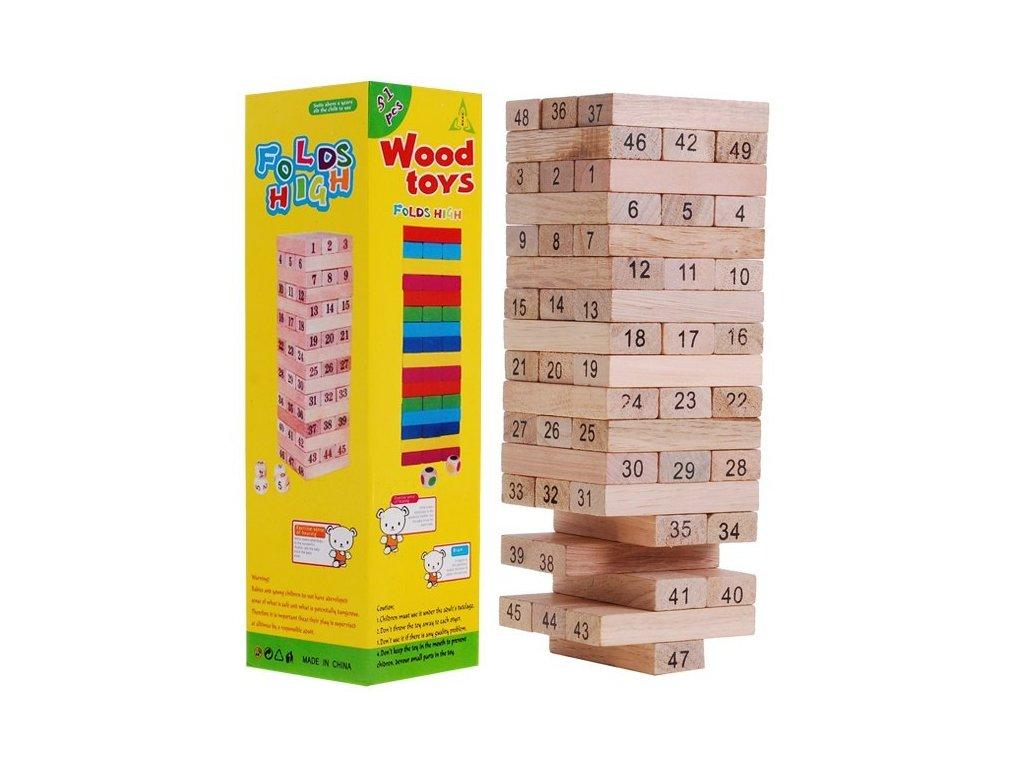 Hra Jenga - dřevěná