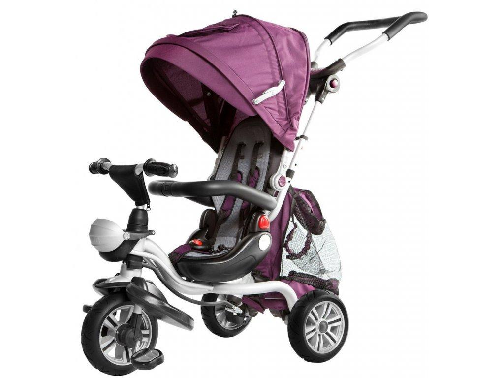 Tříkolka Sport Trike Adventure fialová