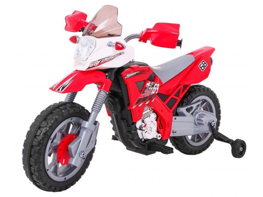 Motorek Cross Czerwony [35125] 1200