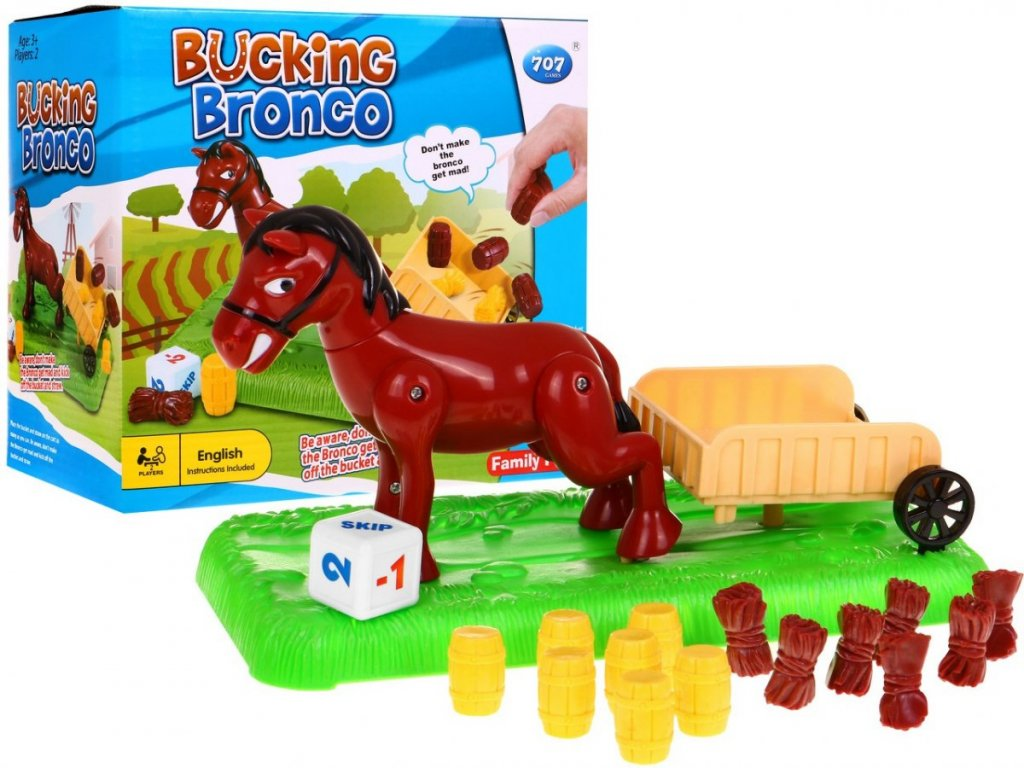 Dovednostní hra s koníčkem pro malé farmáře