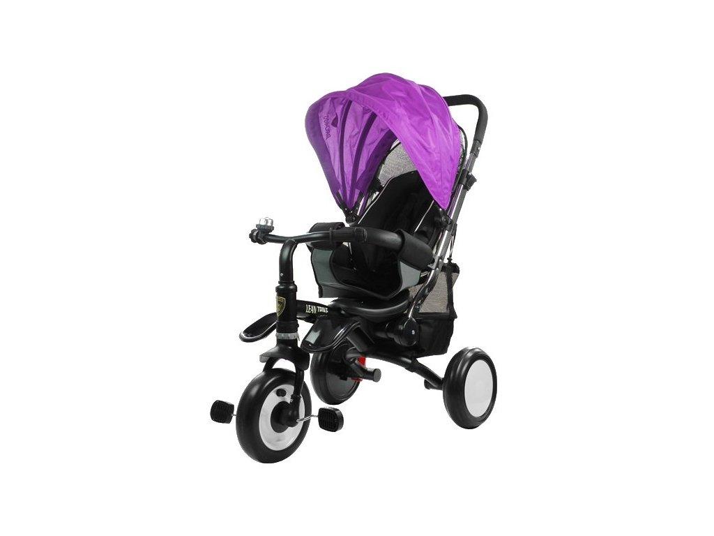 Dětská tříkolka PRO400 fialová
