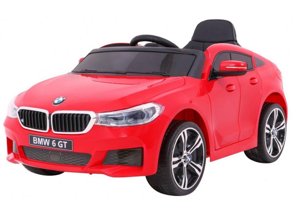 Elektrické autíčko BMW 6 GT červené