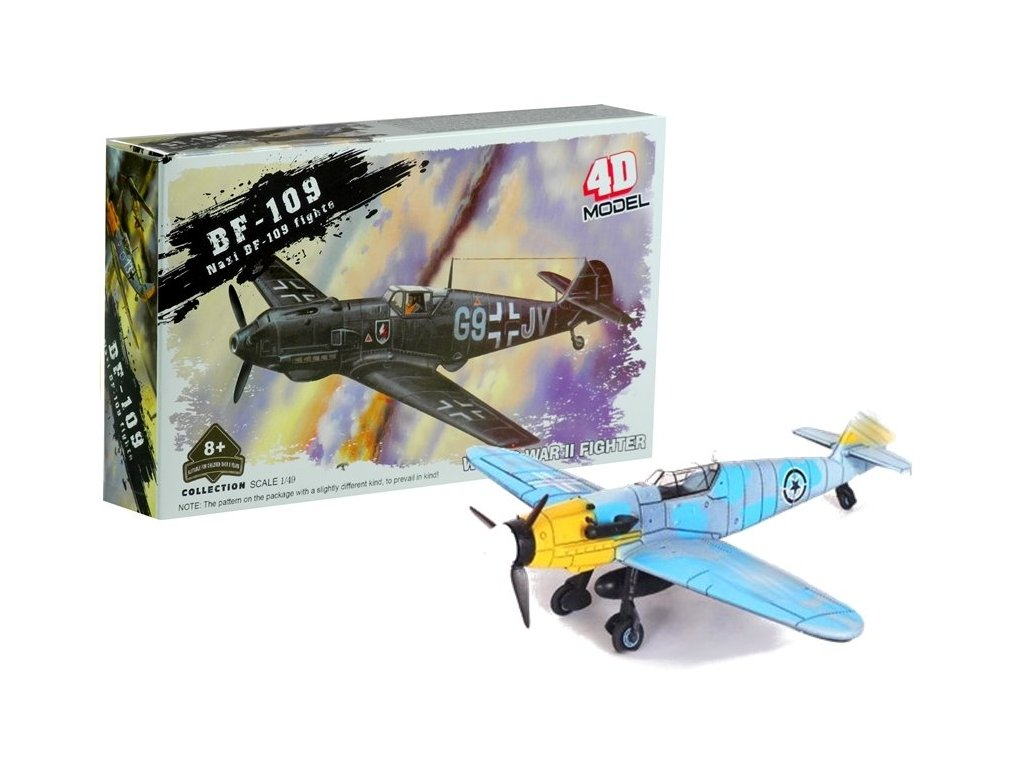 Modelovací letadlo 4D BF-109