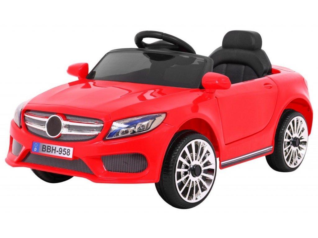 Elektrické autíčko Best červené