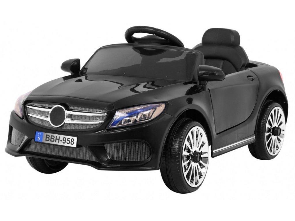 Elektrické autíčko Best černé