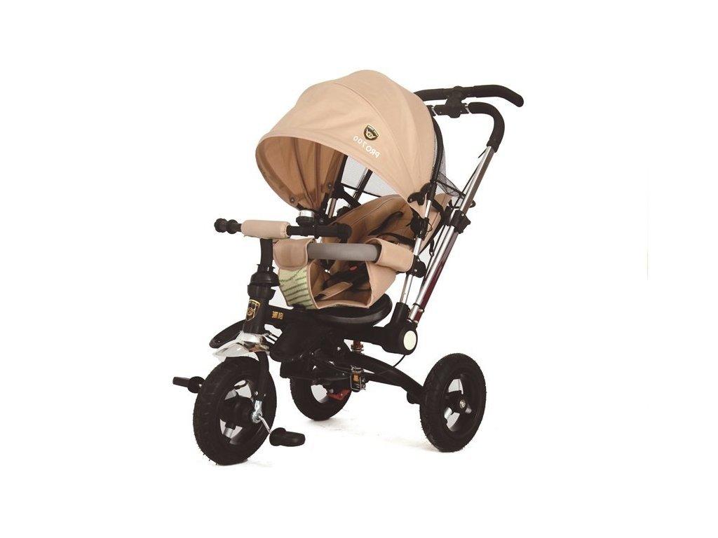 Dětská tříkolka PRO700 krémová