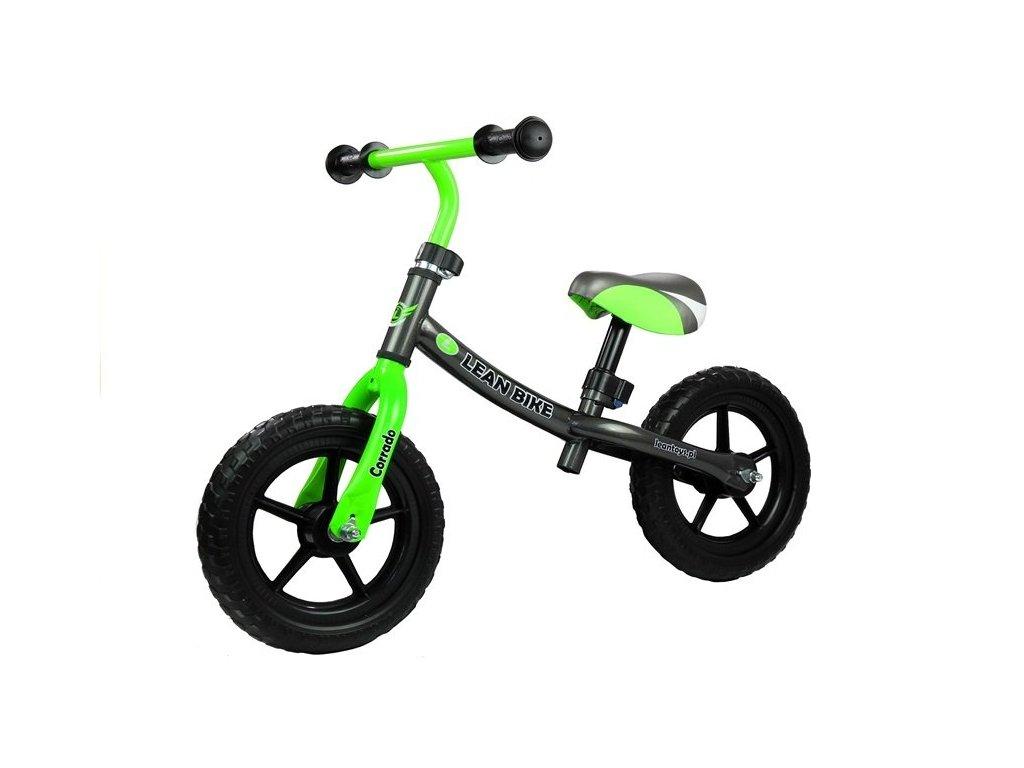 Dětské odrážedlo Corrado zelené
