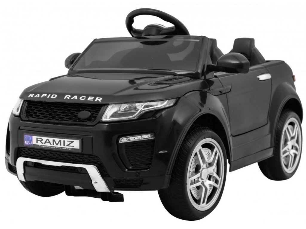 Elektrické autíčko sportovní Rapid Racer černý