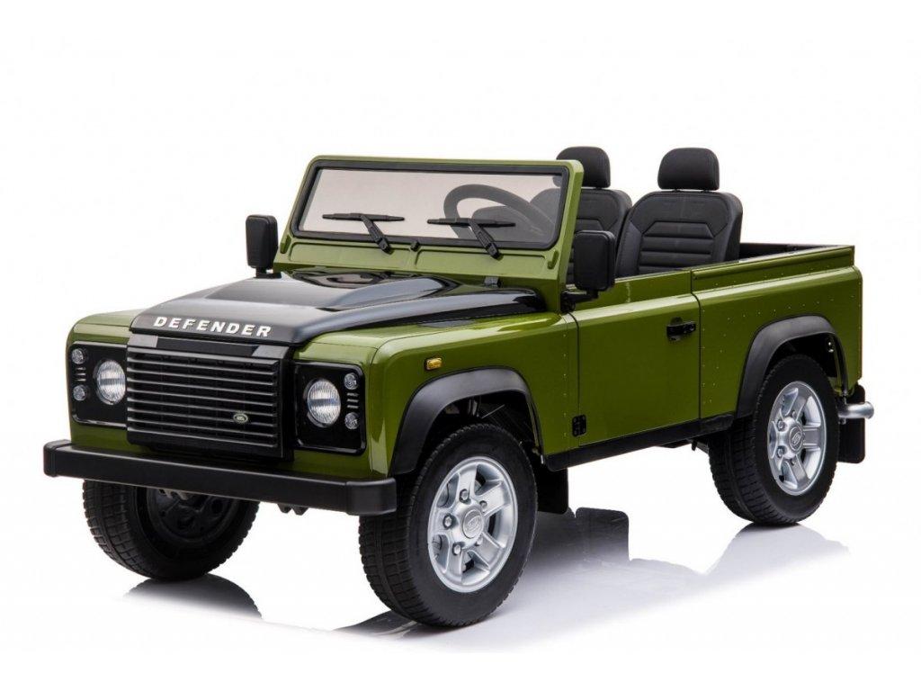 Dětské elektrické autíčko Land Rover DEFENDER 4x4 zelený