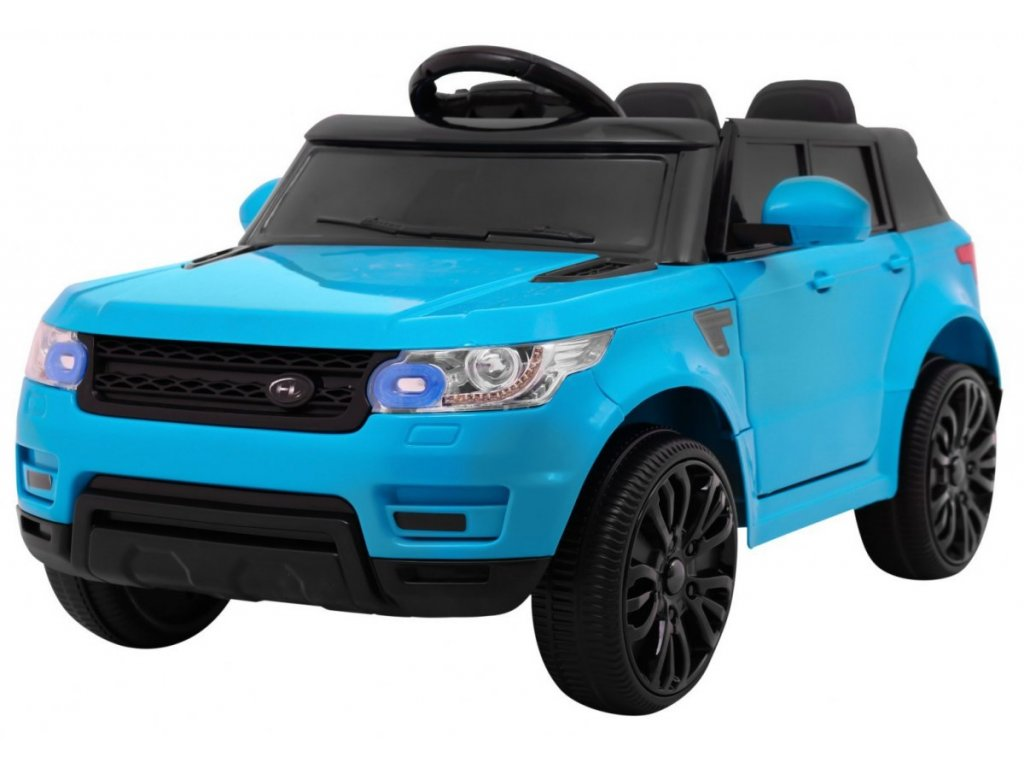 Elektrické autíčko Land Rapid Racer modré