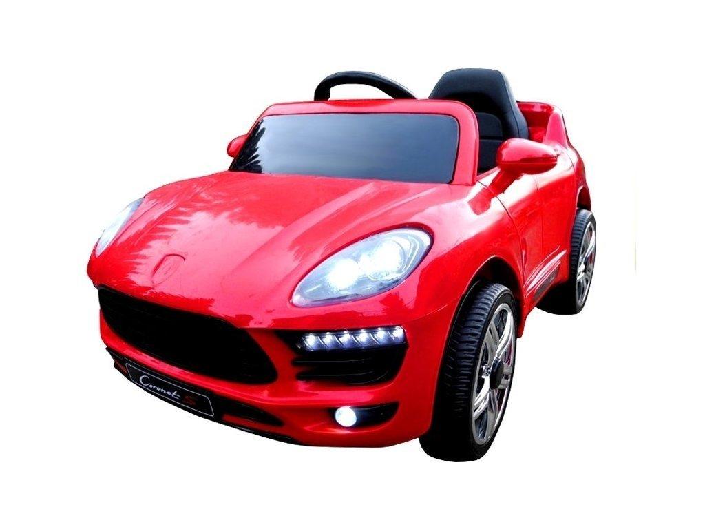 Elektrické autíčko Cornet-S červený