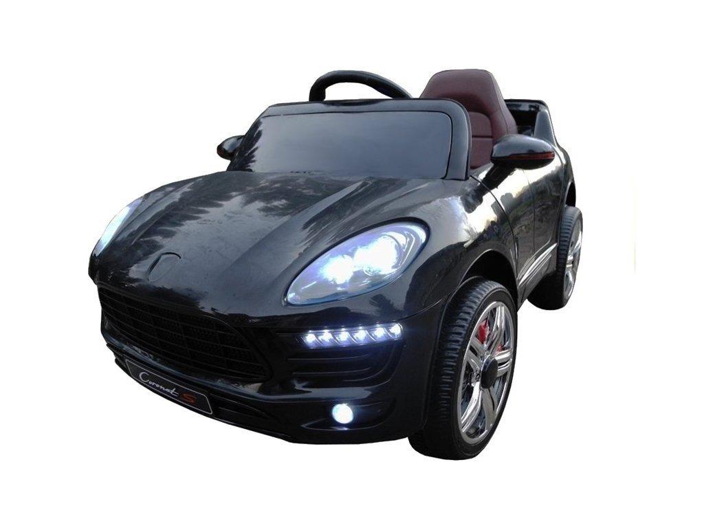 Elektrické autíčko Cornet-S černý