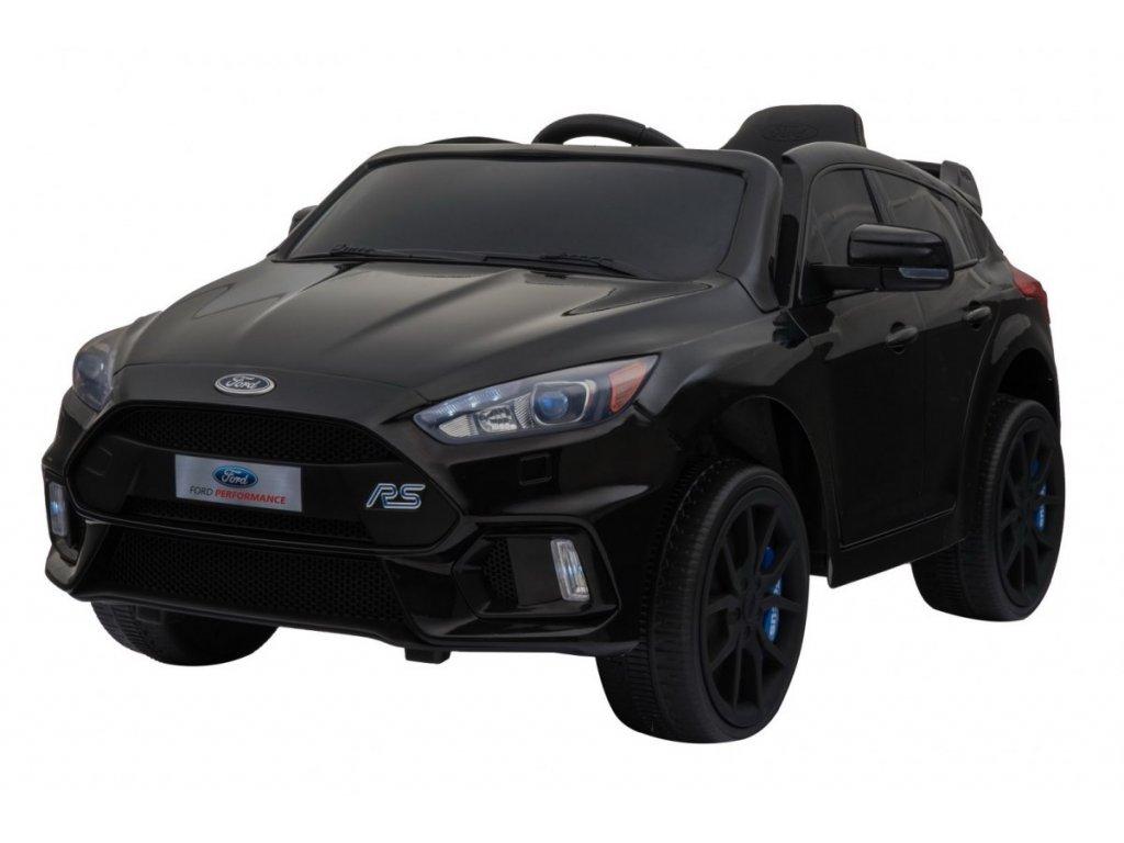 Elektrické autíčko Ford Focus RS černé