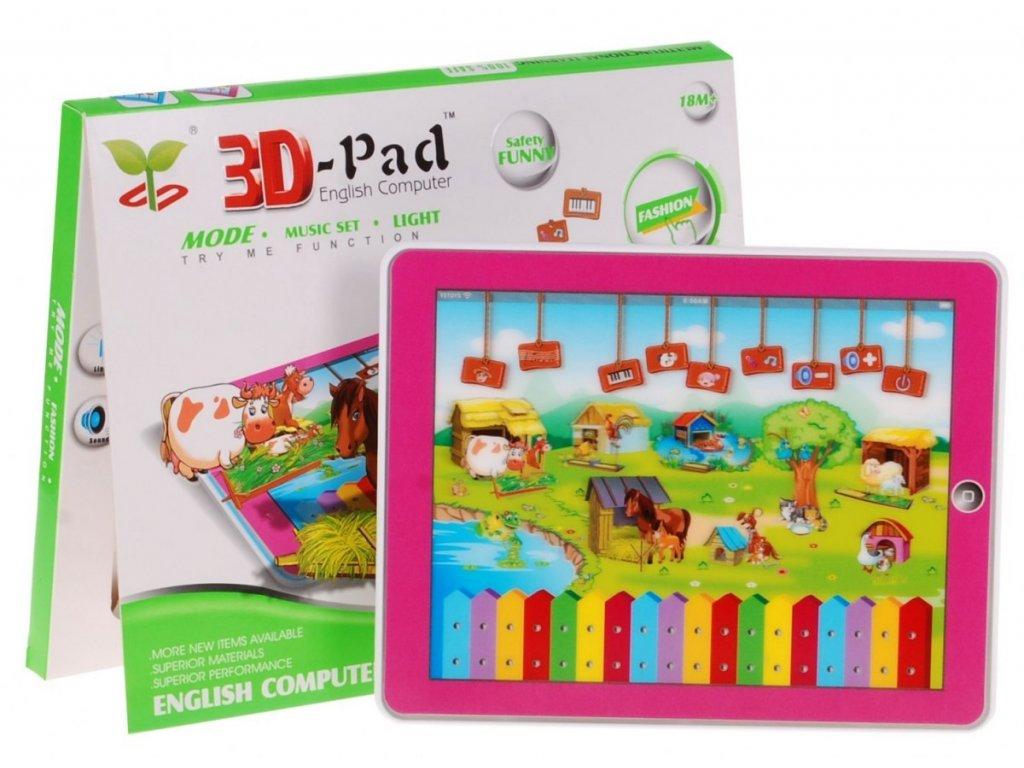 tablet farma 3d ruzovy YS2911HR 1