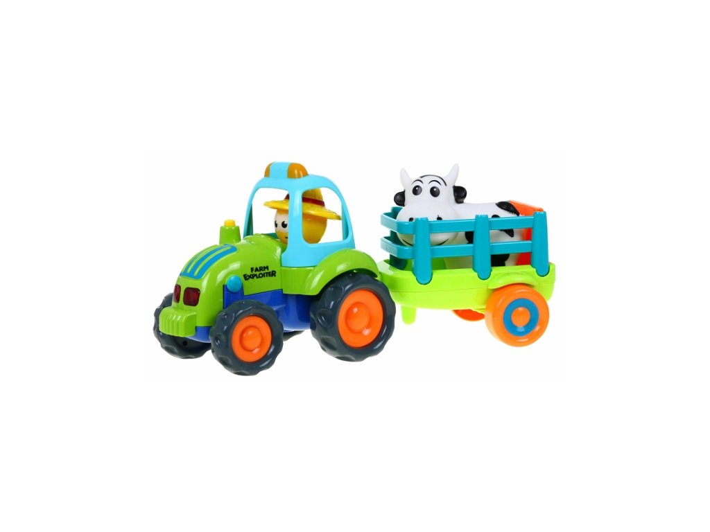 traktor s vleckou Farmer 777 14 2