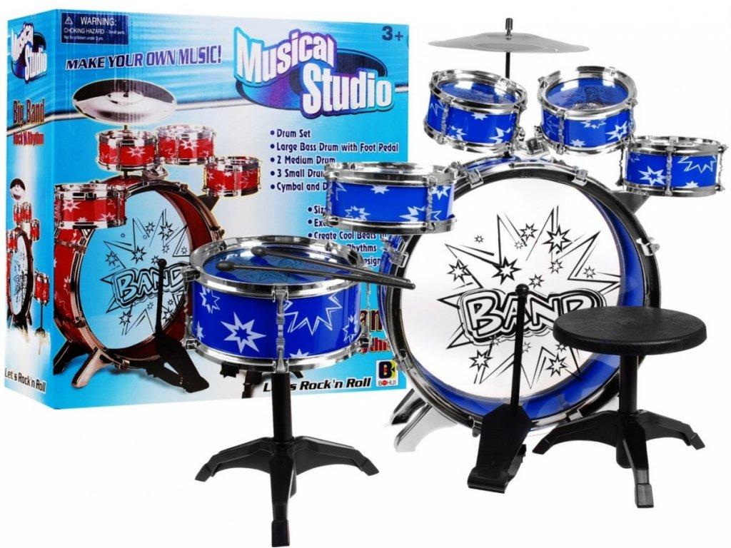 Dětské bubínky bubny, bicí sada 1