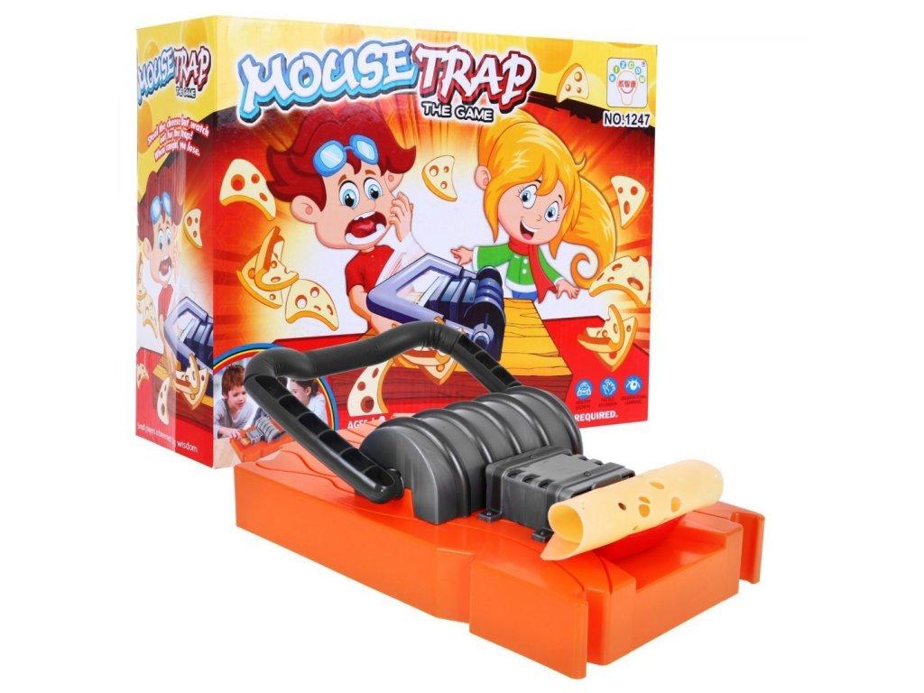 Společenská rodinná hra past pastička na myš1