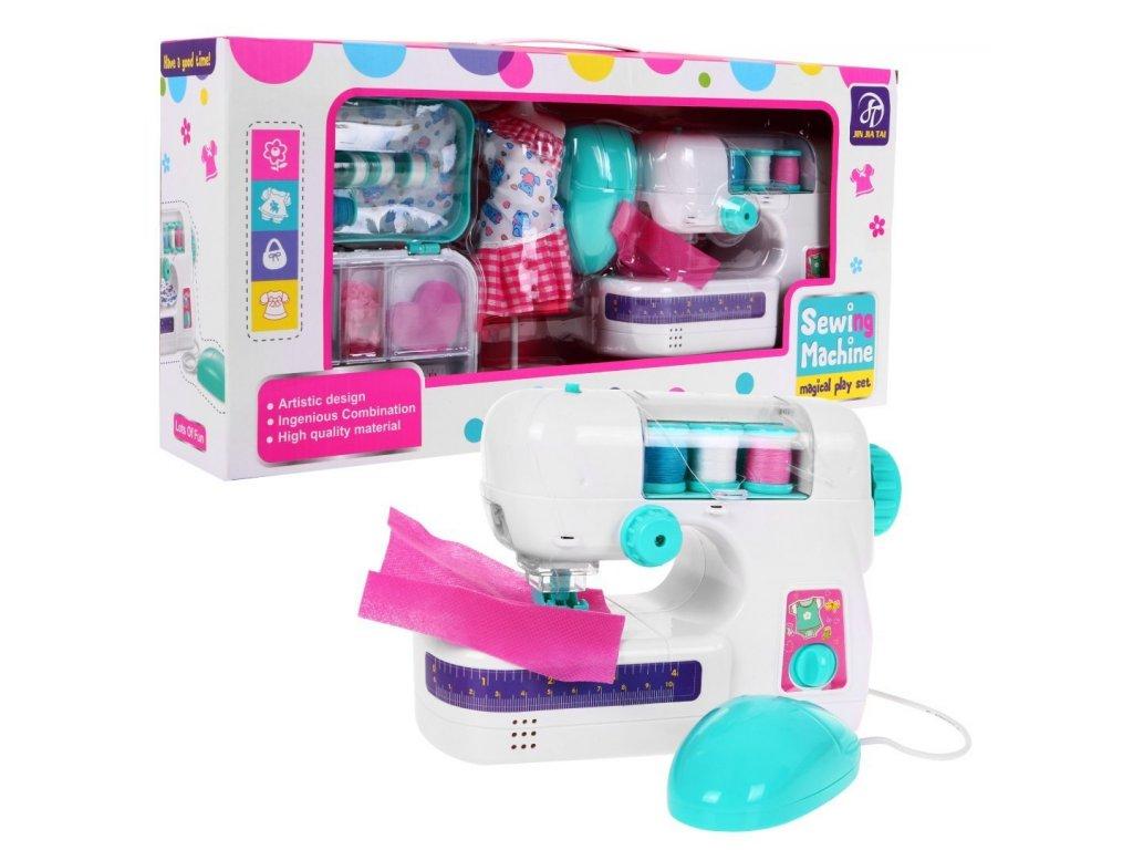 Dětský šicí stroj s příslušenstvím