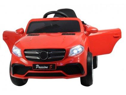 Dětské elektrické autíčko červené