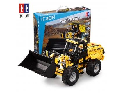 Stavebnice Technic buldozer žlutý 2