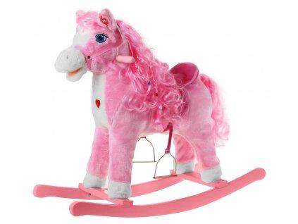 Houpací kůň růžový 1