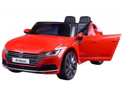 Elektrické autíčko Volkswagen Arteon červená