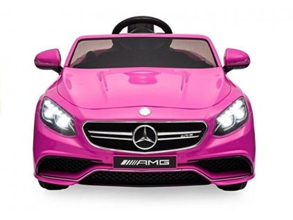 pol pm Auto Na Akumulator Mercedes S63 AMG Pilot Rozowy 2062 3