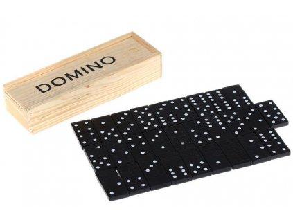 Hra Domino v dřevěné krabičce 3