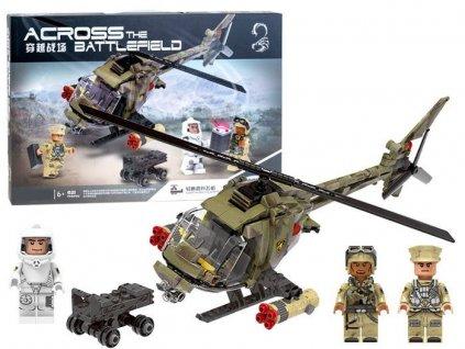 Mamido Stavebnice technic armadni vrtulnik (7)