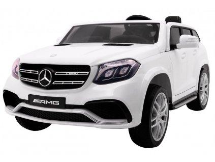 Elektrické autíčko Mercedes Benz GLS 63 Lakované bílé 1